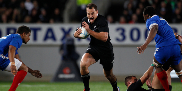 Test regulars such as Israel Dagg have to get a serious wriggle on. Photo / Richard Robinson