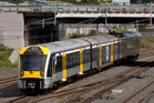 One of Auckland Transport's new electric trains. Photo / Dean Purcell