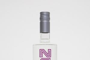 A bottle of Zumwohl plum.