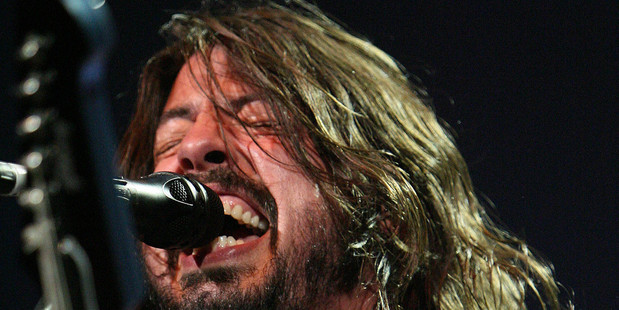 Science explains why women find men like Foo Fighters frontman Dave Grohl sexy.   Photo / Wayne Drought
