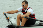 Former rower Nathan Twaddle works as an athlete life adviser for High Performance Sport. Photo / NZPA