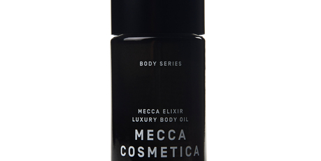 Mecca Cosmetica - Mecca Elixir Luxury Body Oil. Photo / Supplied.