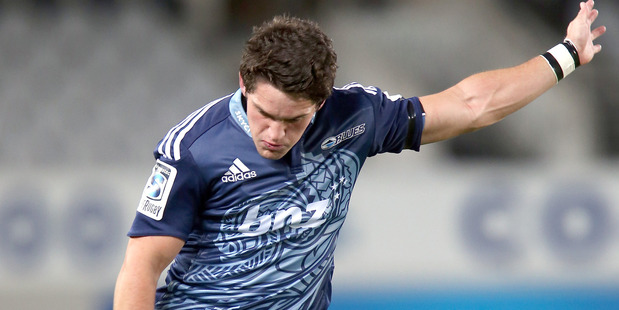 Hickey's Super Rugby duties ruled him out of the final camp and trial, but he will lead a 28-strong squad announced yesterday. Photo / Getty Images