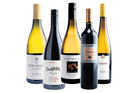 Dog Point Vineyard Section 94 Marlborough; Bell Hill Canterbury Pinot Noir; Greywacke Marlborough Chardonnay; Sacred Hill Helmsman Hawkes Bay; Auburn Bendigo Central Otago Riesling.