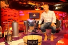 Graham Norton had first hand experience of crushing his own grapes.