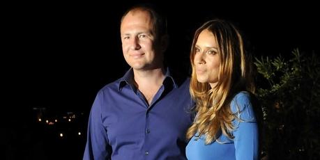 Russian tycoon Andrey Melnichenko and his wife Serbian model Aleksandra Nikolic Melnichenko .