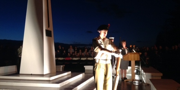 Dawn Service in Mount Maunganui this morning.