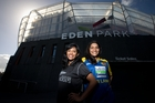 Cricket fans Lakshini, left, and Priyesha Mendis are keen to help out at next year's Cricket World Cup. Photo / Richard Robinson