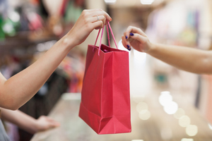 The note was found in a shopping bag. Photo / Thinkstock