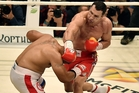 Wladimir Klitschko, right, may not get a chance to compete at another Olympics. Photo / AP
