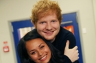 British singer-songwriter Ed Sheeran let The Diary tag along yesterday to his special guest appearance on <i>Shortland Street</i>.