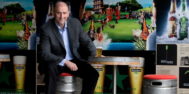 Andy Routley says association with DB's owner, Heineken, has helped to expand the  brand with distribution channels opening up in Europe. Photo / Brett Phibbs