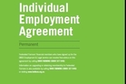 USE IT: The front page of Federated Farmer's industry standard employment contract.