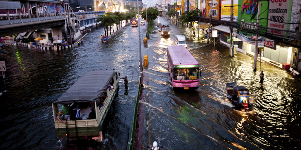 Flooding in Bangkok. Photo / Thinkstock