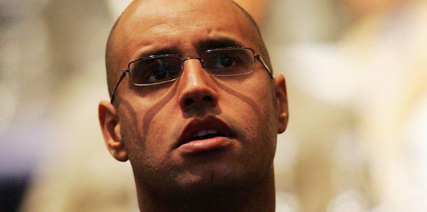 Saif al-Islam Gaddafi, son of former Libyan leader Moammar Gaddafi. Photo / Getty Images