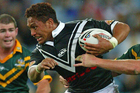 Manu Vatuvei scored two tries in the 2005 Tri Nations final. Photo / Getty Images