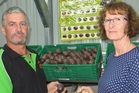 New Zealand Passionfruit Growers Association president Tony Wright and secretary Sue Sharp say 85 per cent of its growers are based in the Bay of Plenty.