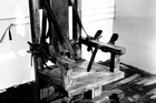 The electric chair was used to execute hundreds and is still an option in eight states. Photo / AP