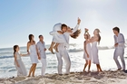 Destination weddings mean extra travel and accomodation costs for guests.