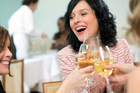 A glass of wine day has proven to have some health benefits.  Photo / Thinkstock