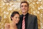 Andrea Hewitt and Laurent Vidal. Photo / Greg Bowker