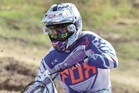 Taupo's Cohen Chase (Yamaha YZ250F), with the national 14-16 years' 250cc title in his grasp for 2014. Photo/BikeSportNZ
