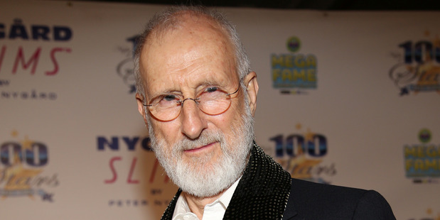 James Cromwell locked himself in a shipping container in protest to Air France's primate transportation policy. Photo/AP.