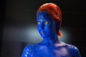 Jennifer Lawrence, seen here in costume from her role in X-Men: Days of Future Past, has topped FHM's sexiest women list.