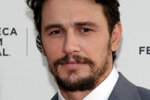 James Franco has admitted hooking up with Lindsay Lohan. Photo/AP