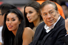 Los Angeles Clippers owner Donald Sterling, right. Photo / AP