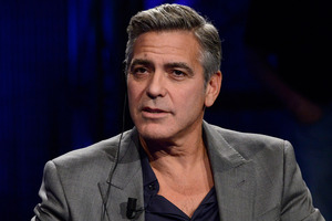 George Clooney is stepping down from his role at the United Nations. Photo/AP