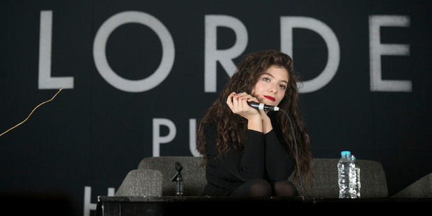 Dave Grohl thinks Lorde is leading a music revolution. Photo/AP.