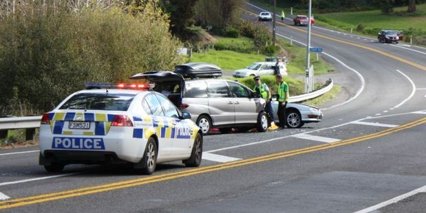 One person is dead after a crash on SH2 near Loop Rd at Te Puna today.