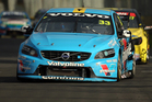 Kiwi sensation Scott McLaughlin has grabbed his second pole position in front of his home crowd for the final V8 Supercars race of the weekend. Photo / Getty Images.