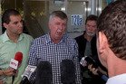 Former National Party Minister Maurice Williamson said he was not trying to interfere in the police process and that he had made that clear to the police. Photo / APN