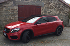 The Mercedes GLA compact SUV launches here with the diesel version.