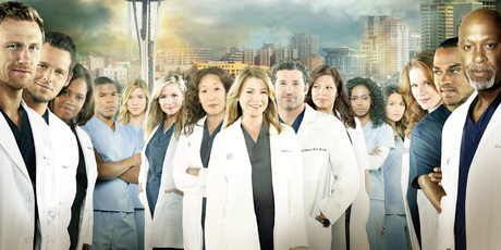 The cast of Grey's Anatomy.