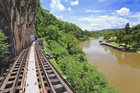 The railway and the tragedy of its construction were made famous in the 1952 book 'Bridge Over the River Kwai'. Photo / Thinkstock