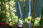 The Tad Fan Falls, on the Bolaven Plateau in Southern Laos. Photo / Yvonne van Dongen
