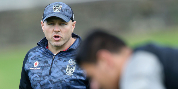 There is a definite sense interim coach Andrew McFadden is putting steel into the  Warriors. Photo / Getty Images