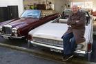 Former televison presenter Mark Sainsbury uses both cars equally. Photo / Mark Mitchel