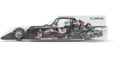 Nissan Zeod cutaway.