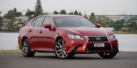 Lexus GS hybrid. Photo / David Linklater