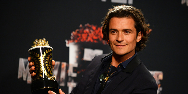 Orlando Bloom looks back on his time in New Zealand fondly. Photo / AP