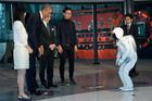 Asimo meets Barack Obama. Honda says the robot's technology can be applied to cars. Picture /AP