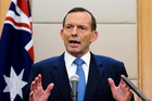 Tony Abbott. Photo / AP