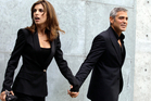 Elisabetta Canalis and George Clooney. Photo / AP