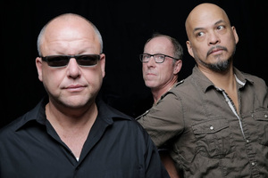 Frank Black (left) and his Pixies.