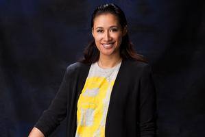 Maria Tutaia, Silver Fern netballer and Pride of New Zealand judge. Photo / Babiche Martens
