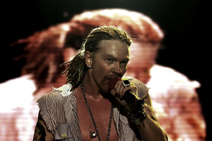 Axl Rose from Guns N' Roses. File photo / NZ Herald